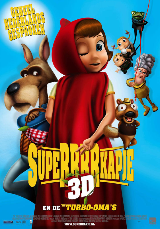 Hoodwinked Too! Hood vs. Evil Poster