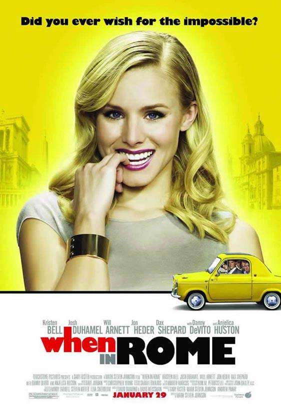 When in Rome (Kristen Bell/Josh Duhamel) (film, Hollywood ...
