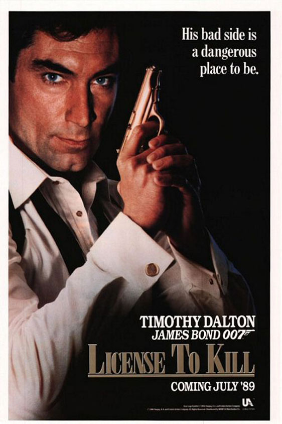License to Kill Poster