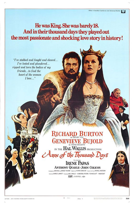 Anne of the Thousand Days Poster