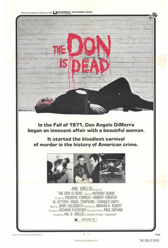 The Don is Dead Poster