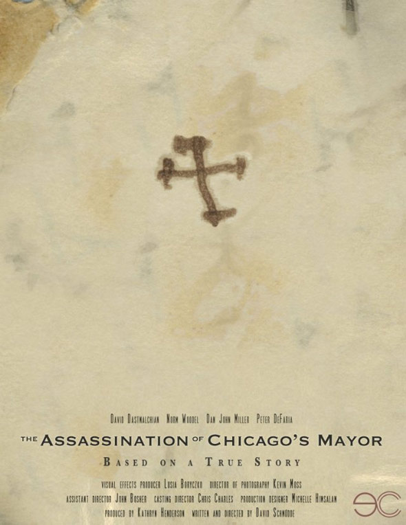 The Assassination of Chicago's Mayor Poster