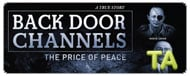Back Door Channels: The Price of Peace: Tears for Peace