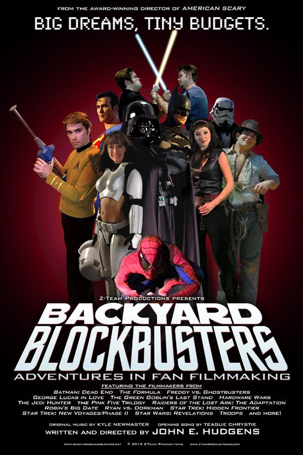 Backyard Blockbusters Poster