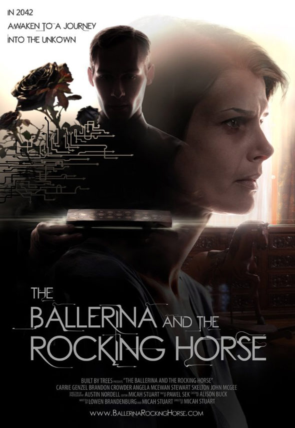The Ballerina And The Rocking Horse Poster