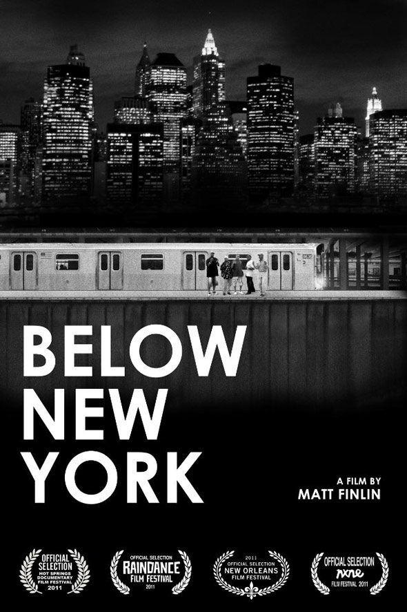 Below New York Poster