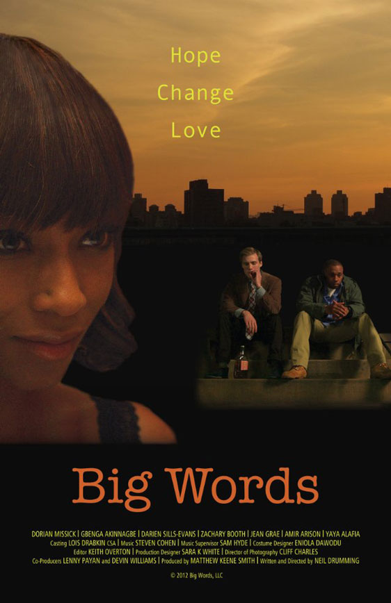 Big Words Poster