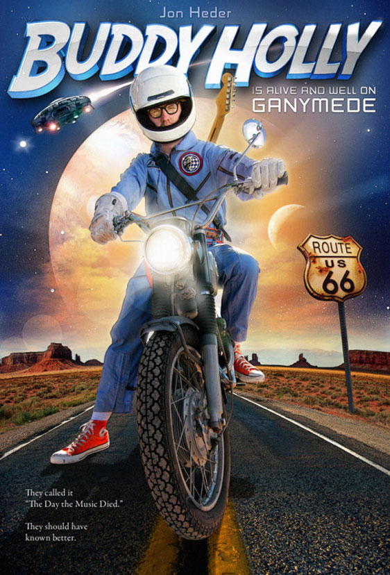 Buddy Holly is Alive and Well on Ganymede Poster