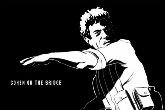 Cohen on the Bridge: Rescue at Entebbecoh Poster