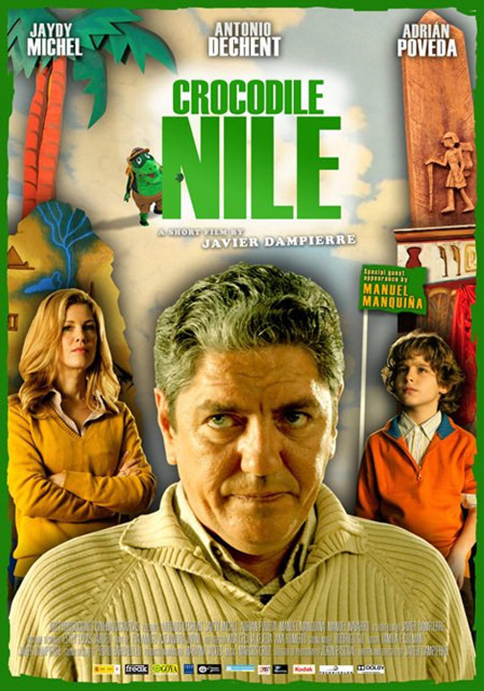 Crocodile Nile Poster