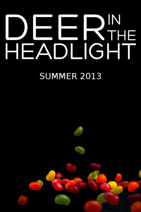 Deer in the Headlight Poster