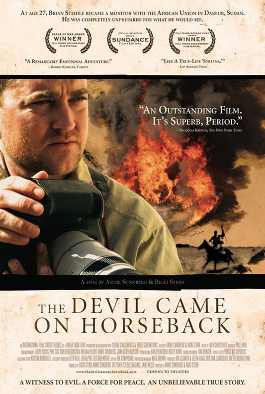 The Devil Came On Horseback Poster