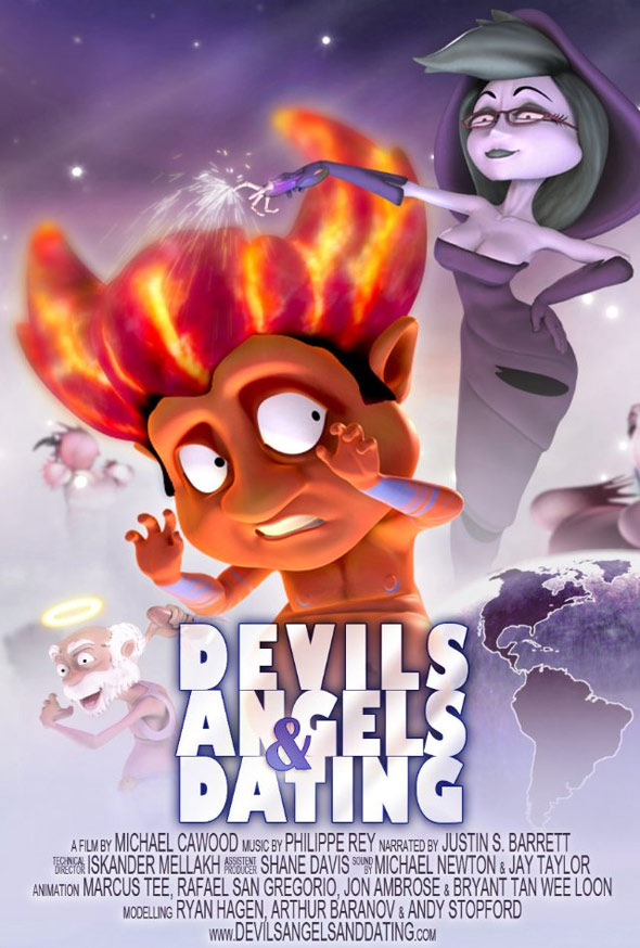 Devils Angels & Dating Poster