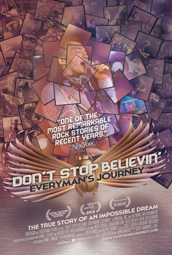 Don't Stop Believin': Everyman's Journey Poster
