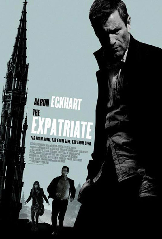Erased (The Expatriate) Poster