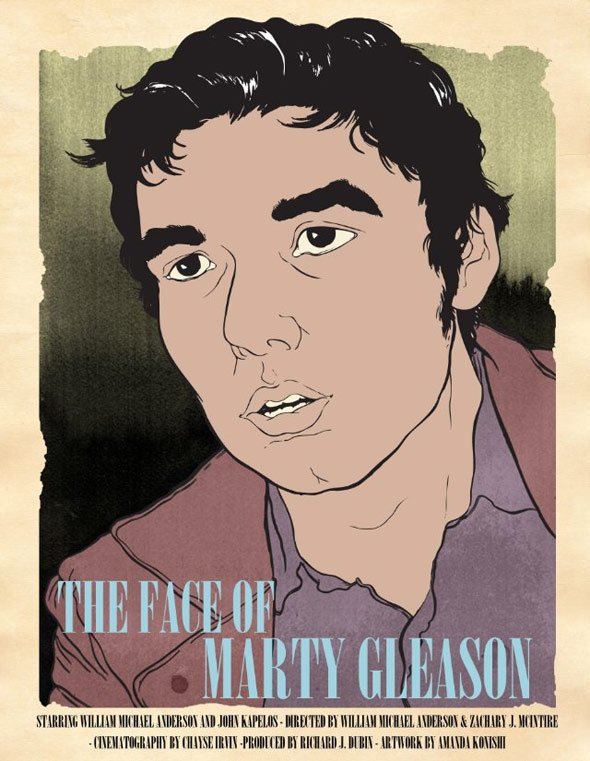 The Face of Marty Gleason Poster