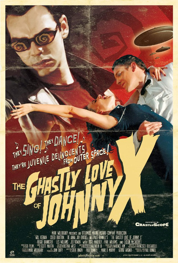 The Ghastly Love of Johnny X Poster