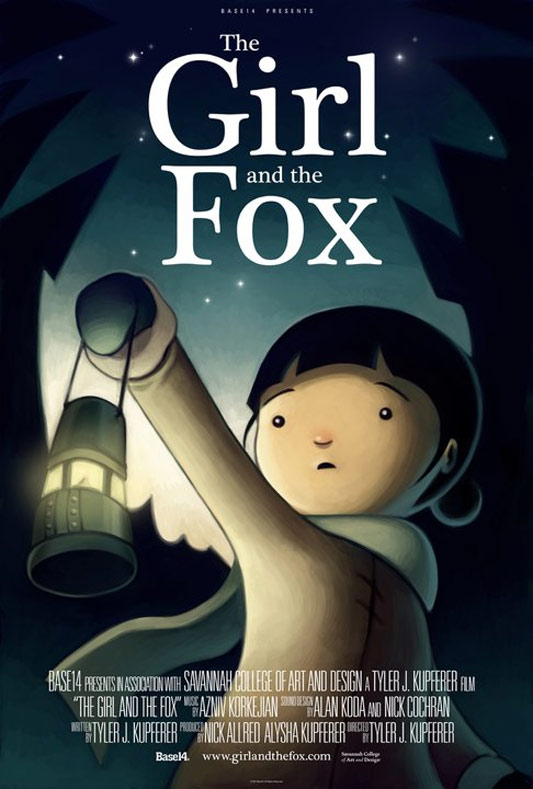 The Girl and the Fox Poster
