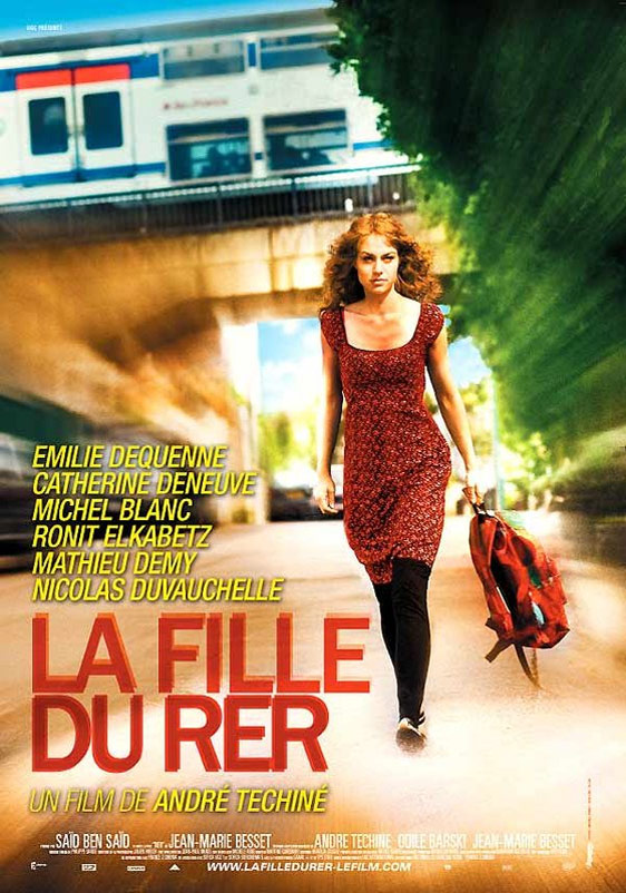 The Girl on the Train (La fille du RER) Poster