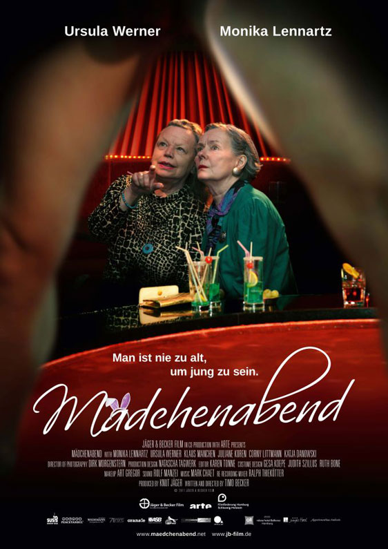 A Girls' Night Out (Mädchenabend) Poster