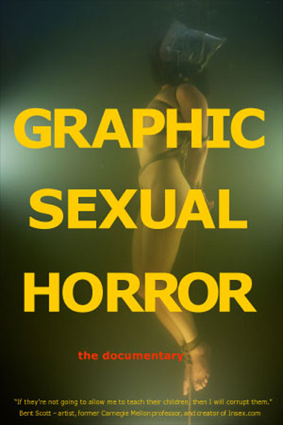 Graphic Sexual Horror Poster