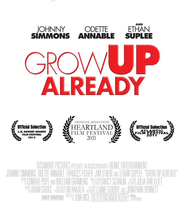 Grow Up Already Poster