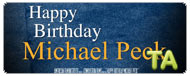 Happy Birthday Michael Peck: Trailer