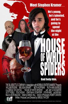 House of White Spiders Poster