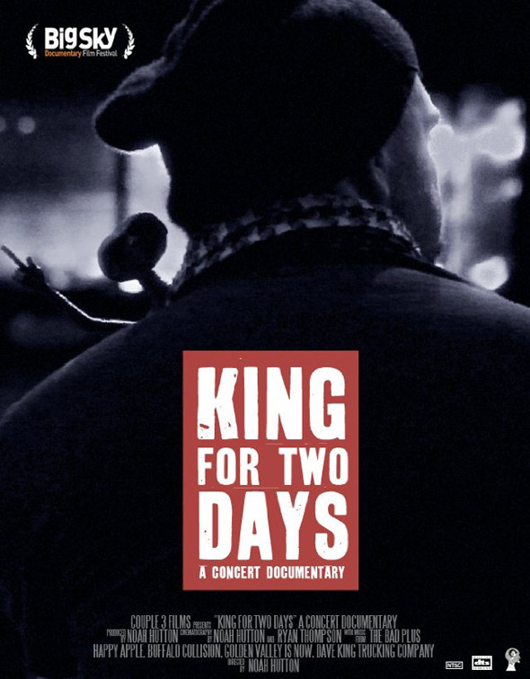 King for Two Days Poster