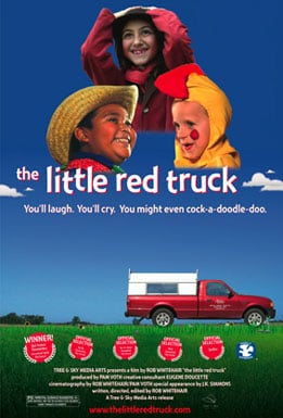 Little Red Truck Poster