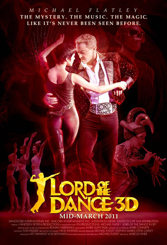 Lord of the Dance 3D Poster