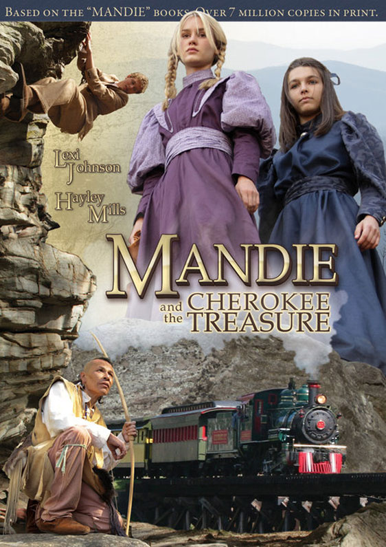 Mandie and the Cherokee Treasure Poster
