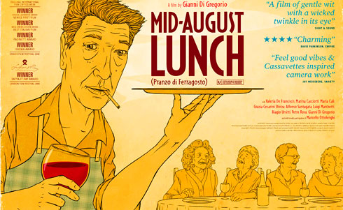 Mid August Lunch Poster
