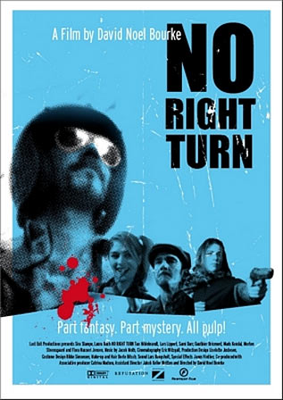No Right Turn Poster