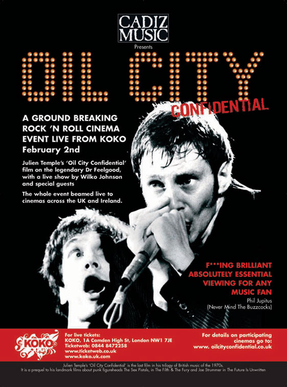 Oil City Confidential Poster