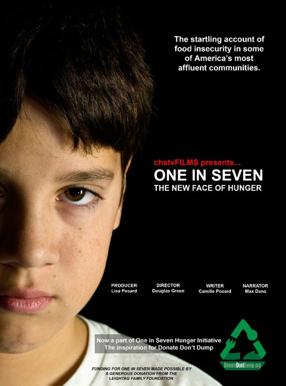 One in Seven, The New Face of Hunger Poster