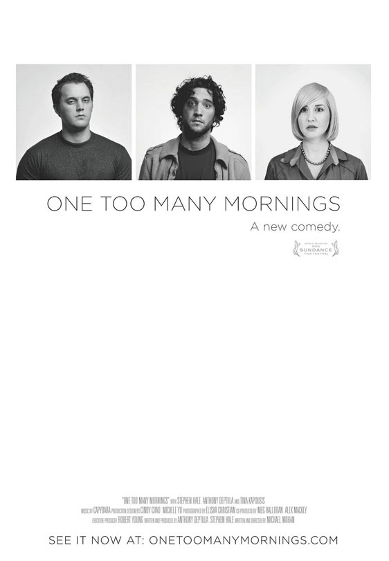 One Too Many Mornings Poster
