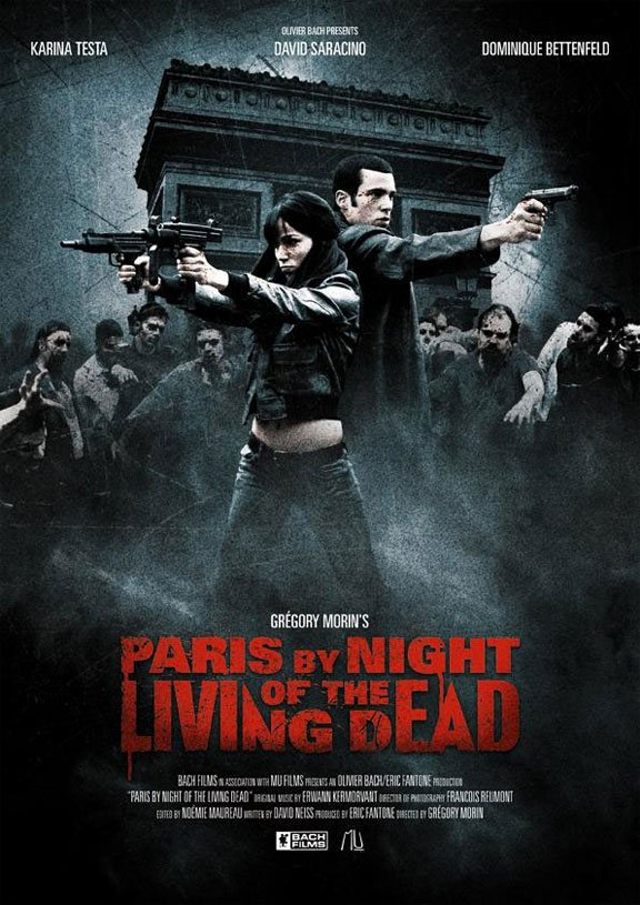Paris by Night of the Living Dead Poster