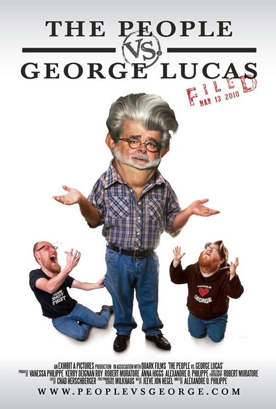 The People vs George Lucas Poster