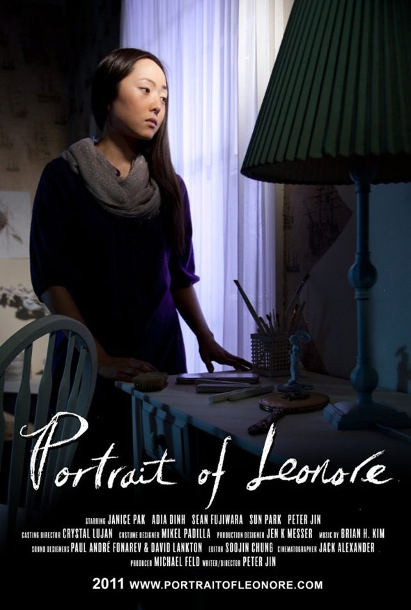 Portrait of Leonore Poster