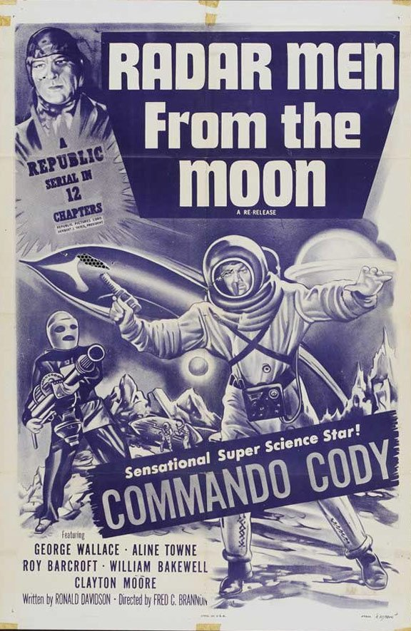 Radar Men from the Moon Poster