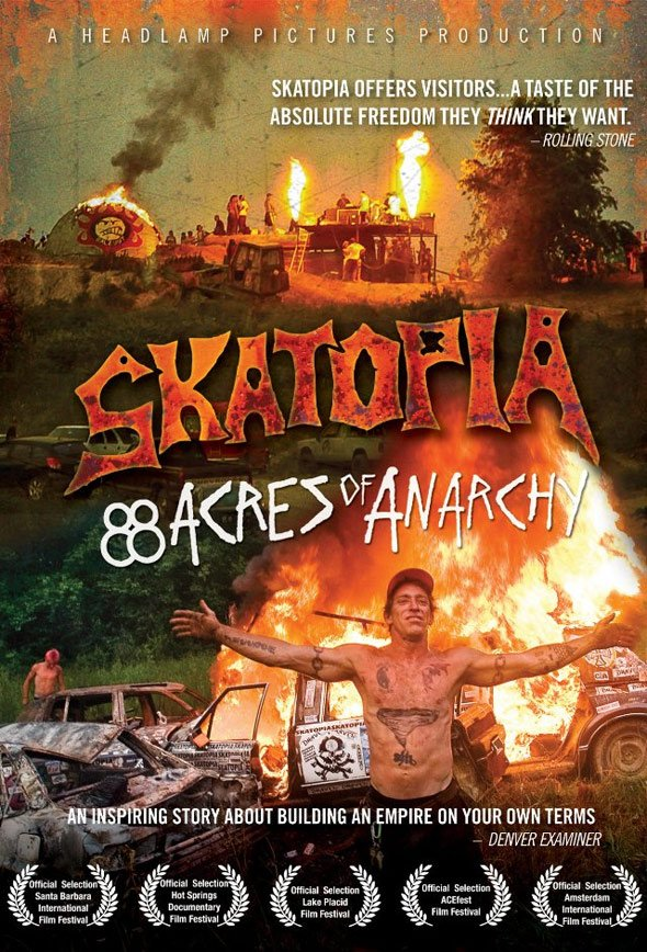 Skatopia: 88 Acres of Anarchy Poster