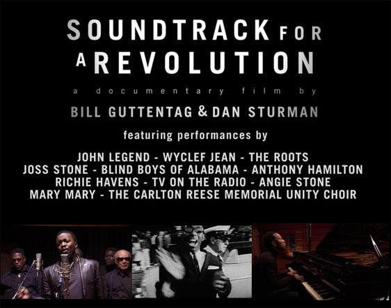 Soundtrack for a Revolution Poster