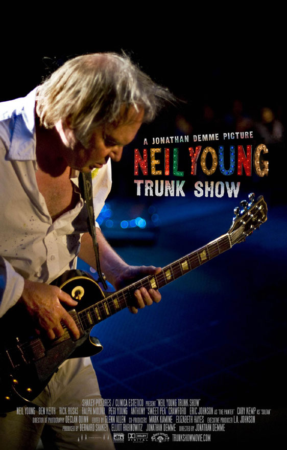 Neil Young Trunk Show Poster