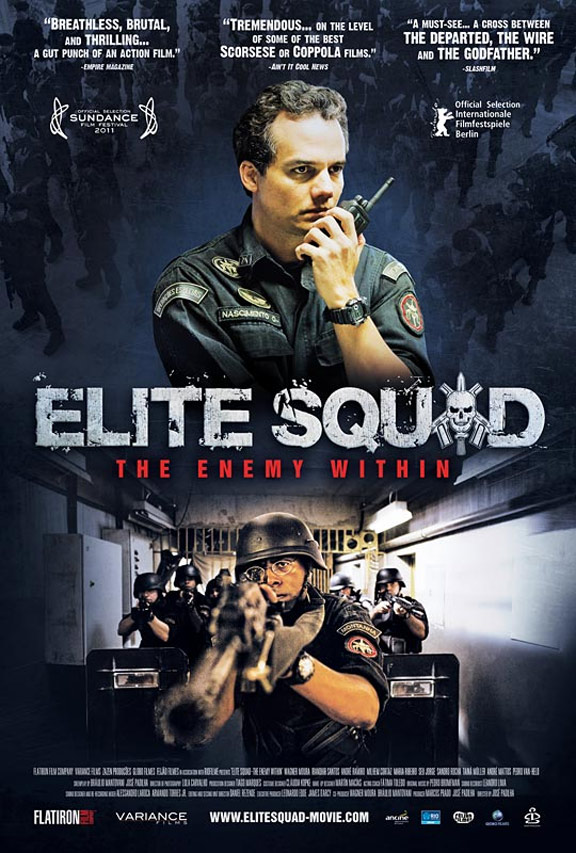 Elite Squad 2: The Enemy Within Poster