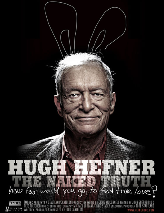 Hugh Hefner: The Naked Truth Poster
