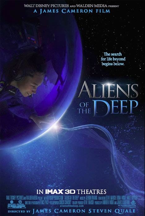 Locandina Aliens of the Deep streaming documentario