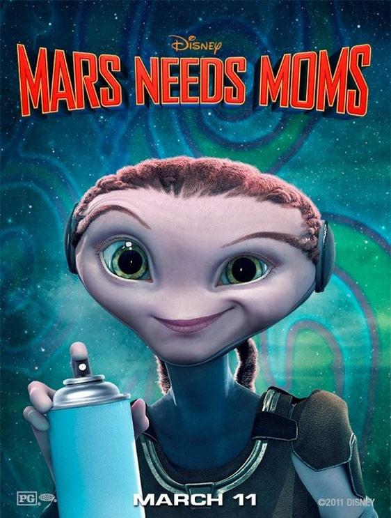 Trailer For Mars Needs Mom