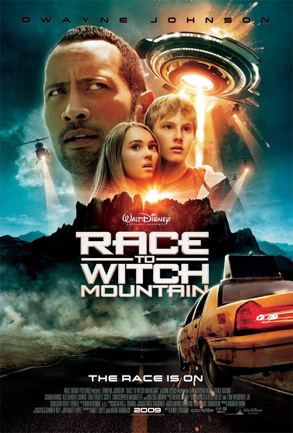Race to Witch Mountain Poster