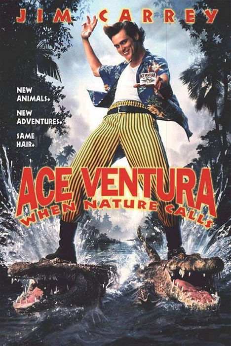 Ace Ventura- When Nature Calls Poster
